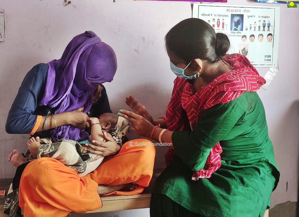 mother and child nutrition to avoid resurge in child mortality