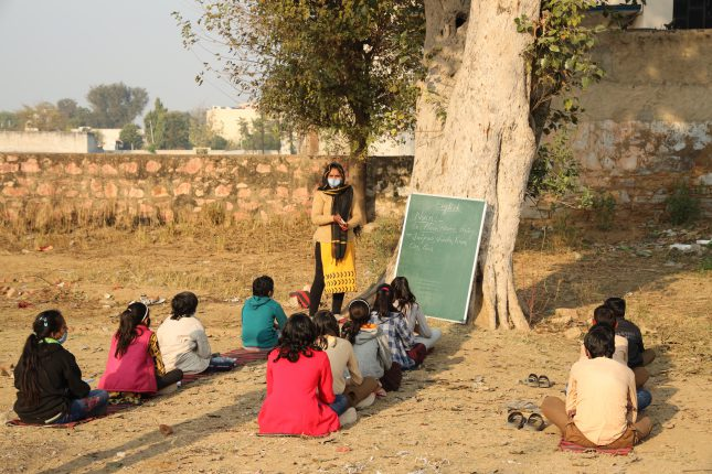 Smile Foundation is one of theNGOs working for education at the grassroots