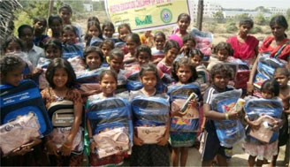 Bags and Uniform distribution