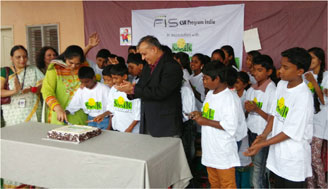 FIS supports Smile Foundation