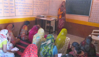 Mothers lead the change in Guna, 