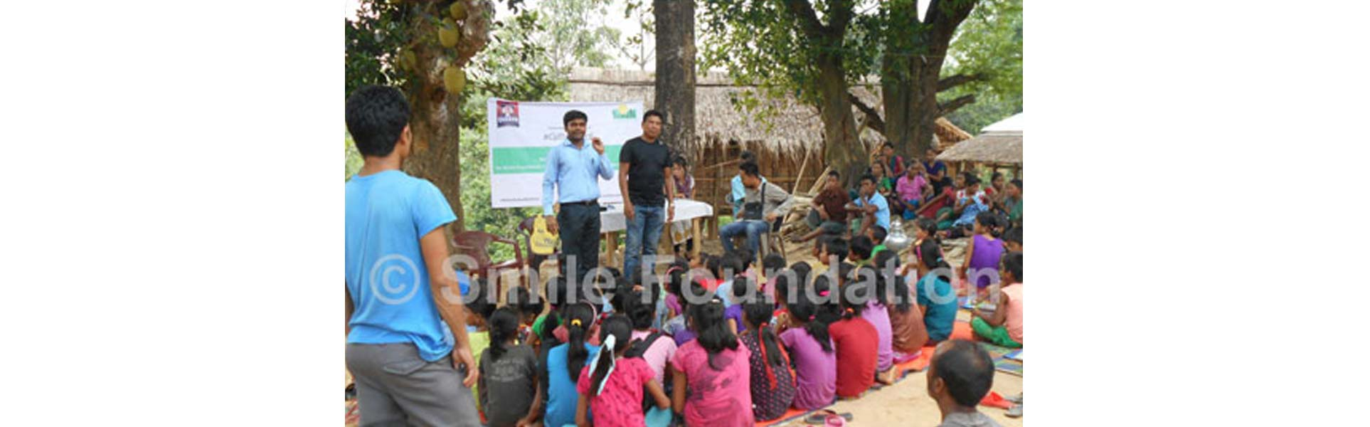 Awareness Campaign for education held for people in remote area