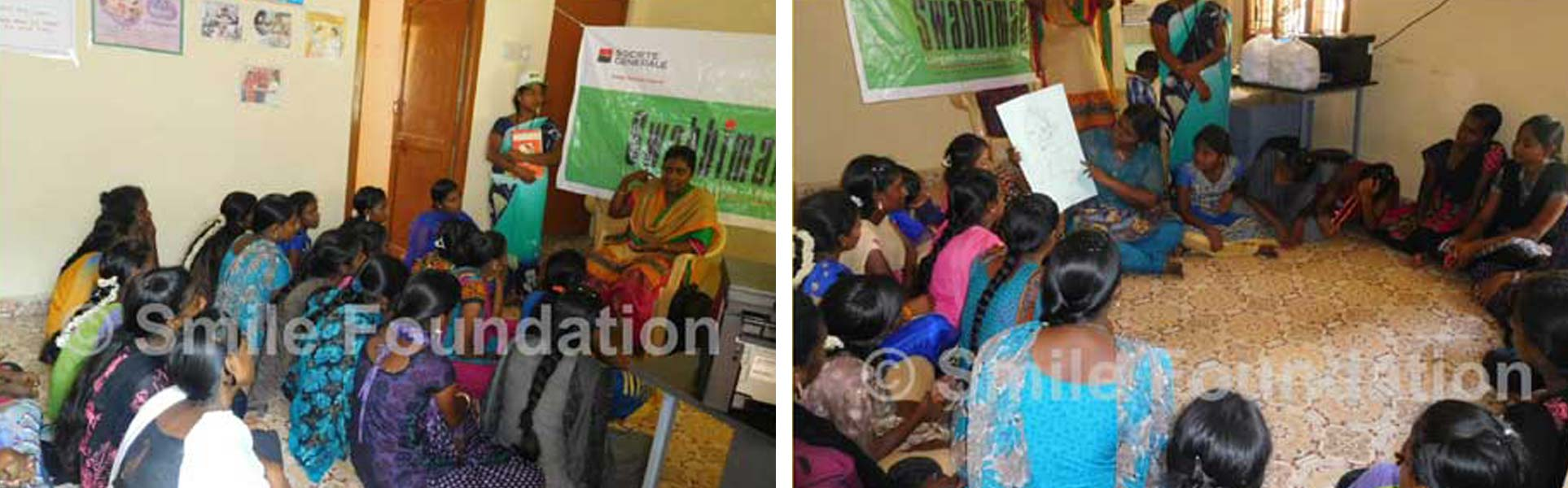 Awareness on health and wellness conducted for girls under Swabhiman programme