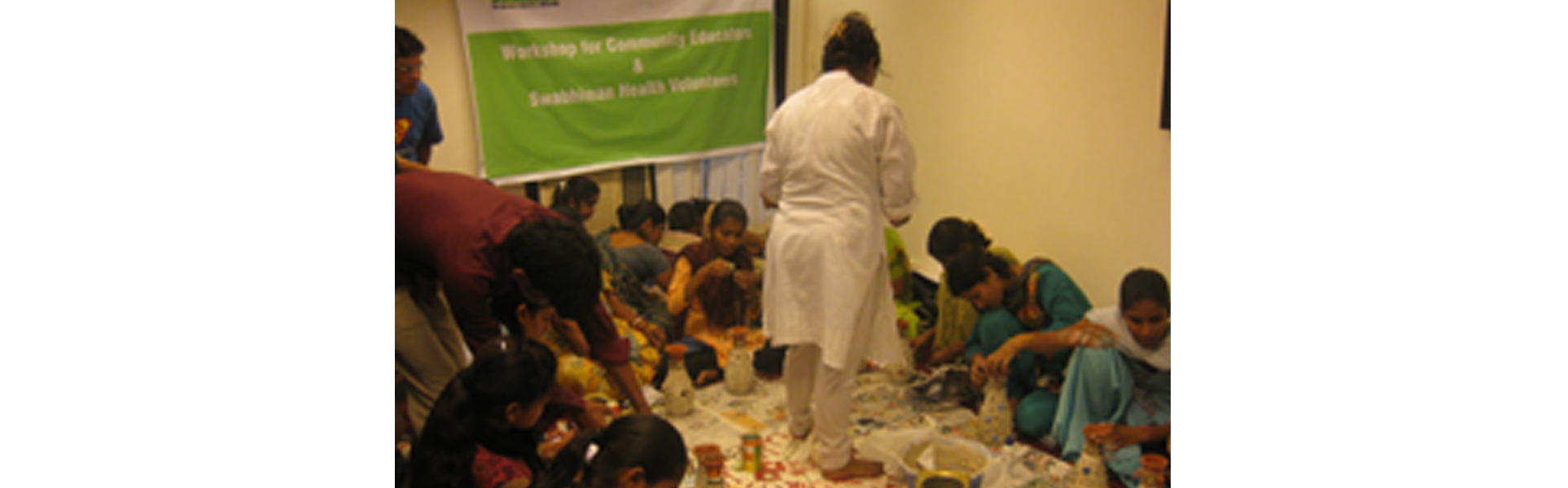Best out of Waste - A workshop for underprivileged adolescent girls