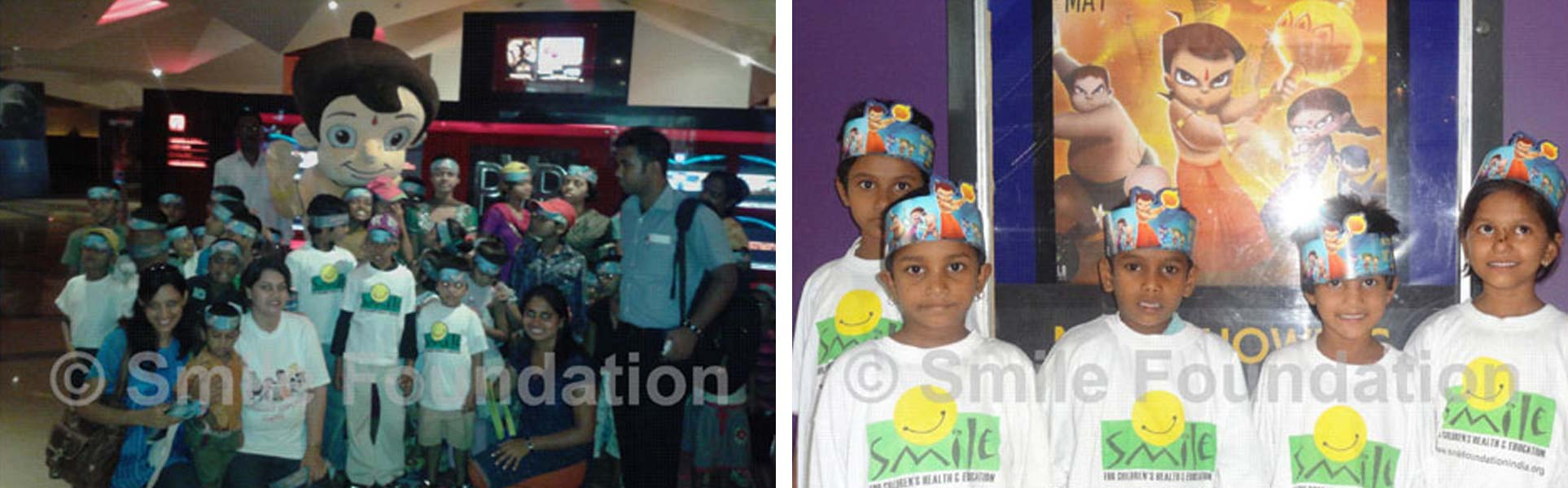 Smile kids get a special screening of Chota Bheem