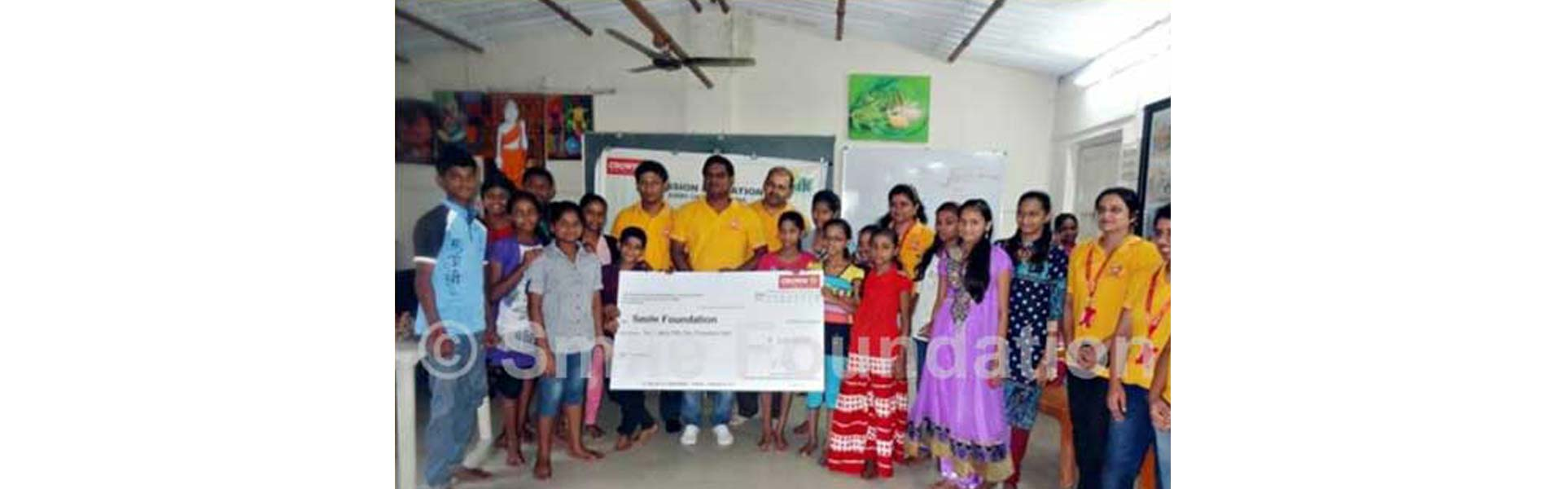 Crown Worldwide Group extends supports to Smile Foundation