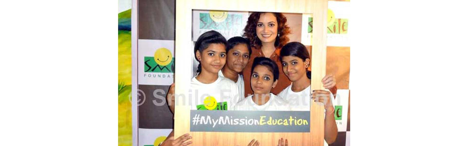 Dia Mirza Joins Mission Education