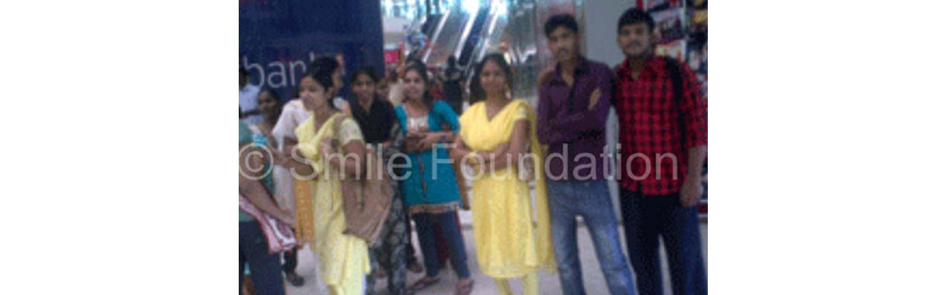 Exposure Visit Of STeP Students To OBEROI MALL, Goregaon - Mumbai