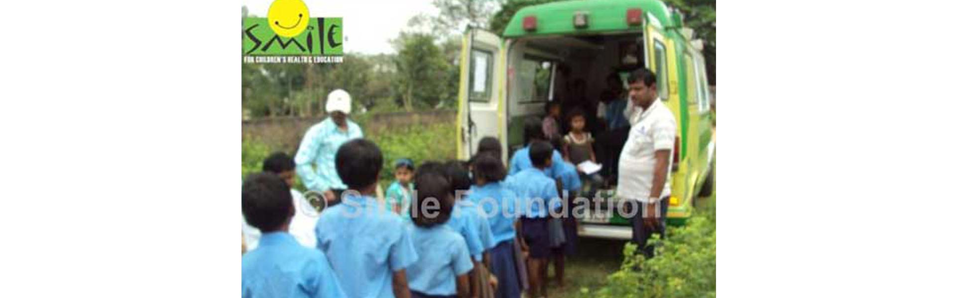 The Smile on Wheels mobile hospital project in Jharkhand completes four years of operation
