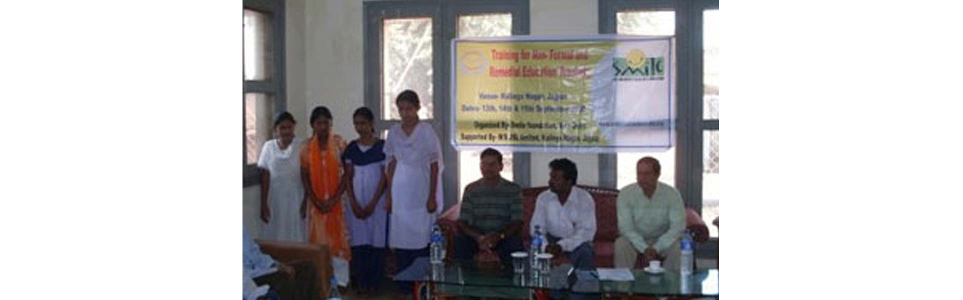 Teachers' Training at Kalinga Nagar