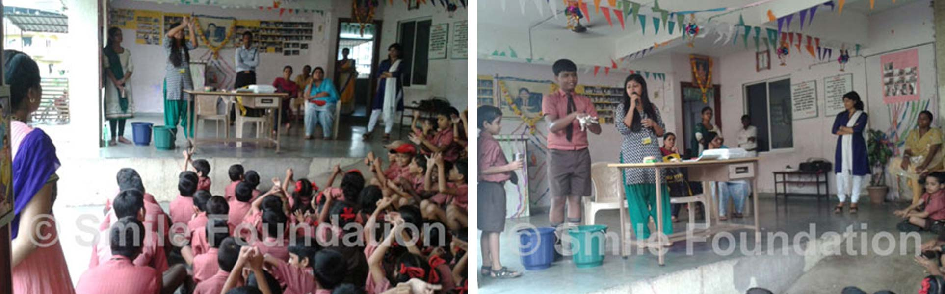 Hygiene workshop for New City International School students
