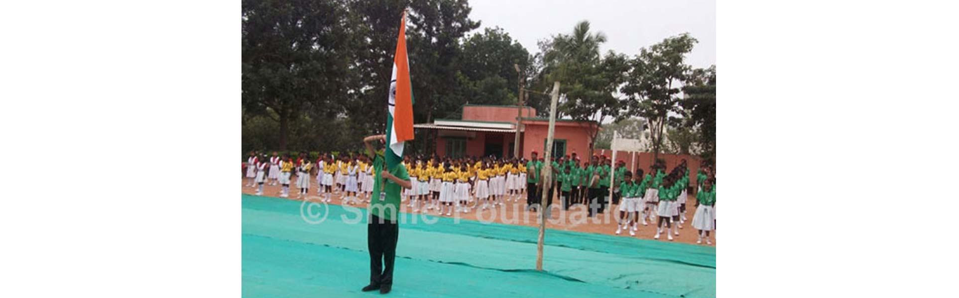BMV Educational Trust children celebrate Republic Day