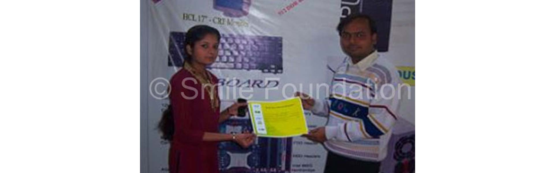 Certificate Distribution of STeP Students